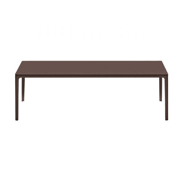 Plate Table Beistelltisch mit MDF Platte 120 x 40