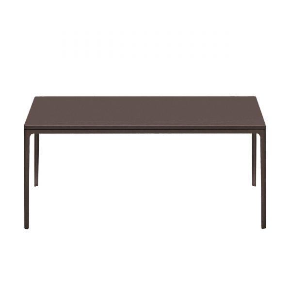Plate Table Beistelltisch mit MDF Platte 120 x 70