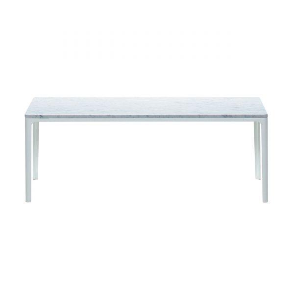Plate Table Beistelltisch mit Marmor Platte 120