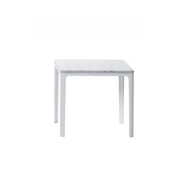 Plate Table Beistelltisch mit Marmor Platte 40