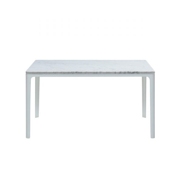 Plate Table Beistelltisch mit Marmor Platte 70