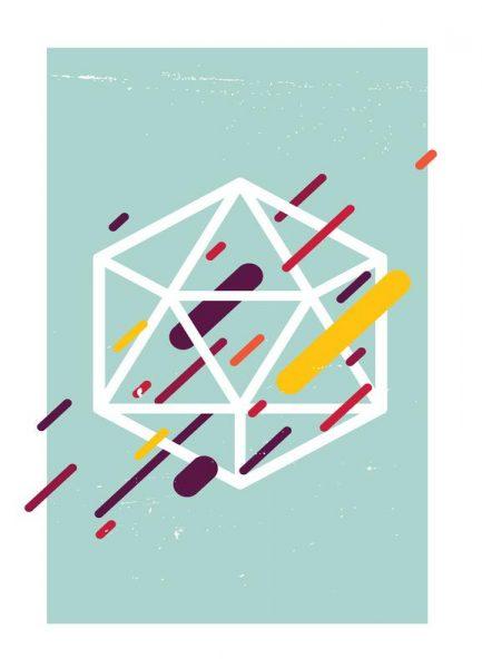 Polyhedra Leinwandbild