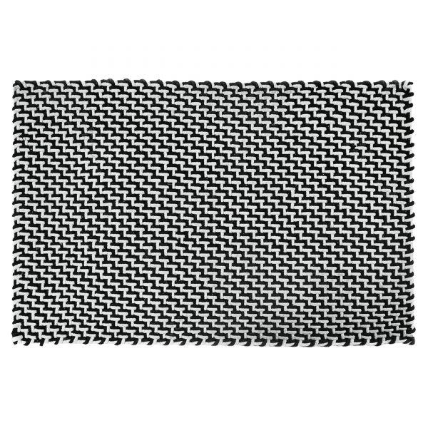 Pool Fußmatte Badematte Outdoorteppich 172 schwarz weiß