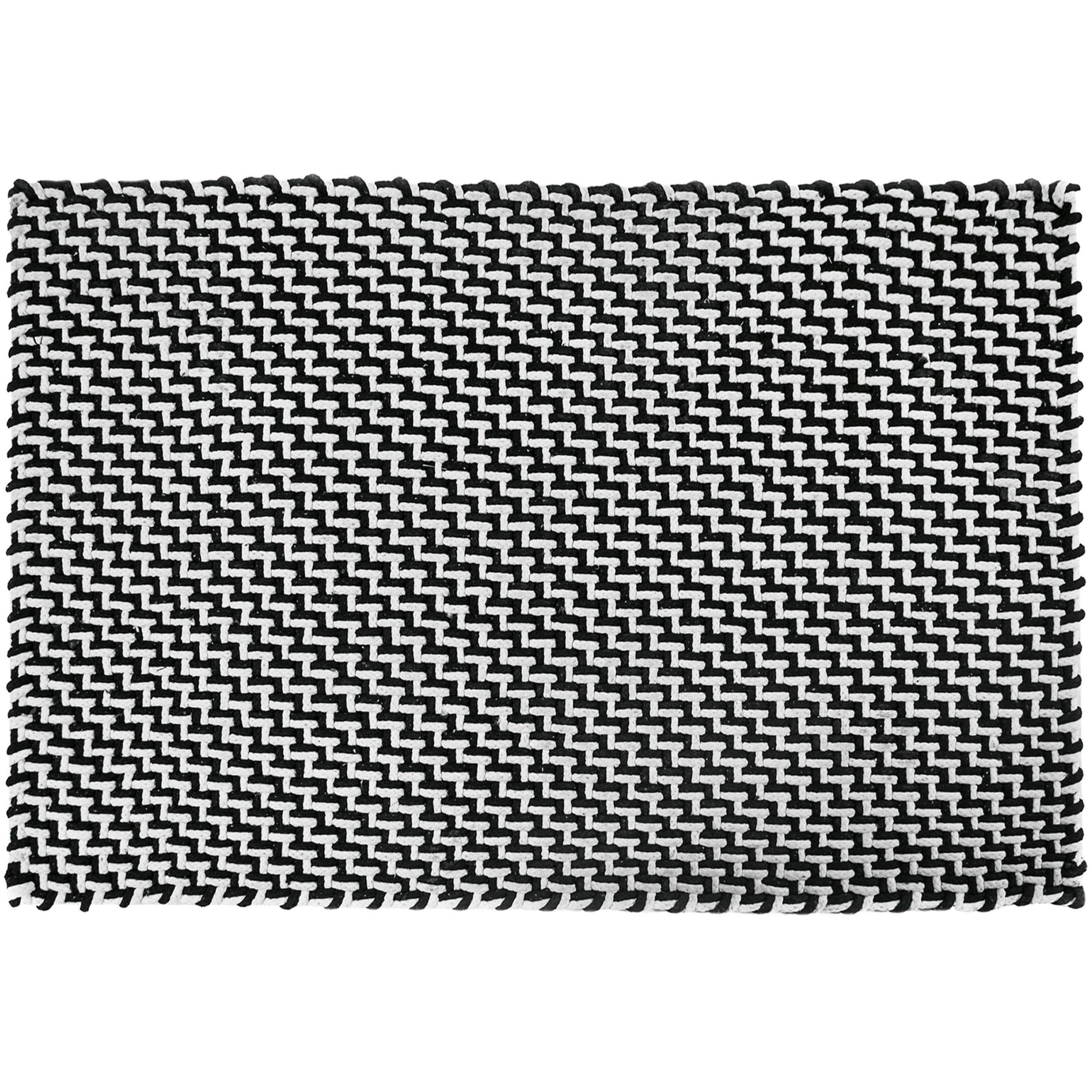 pool fu matte badematte outdoorteppich 300 schwarz wei. Black Bedroom Furniture Sets. Home Design Ideas