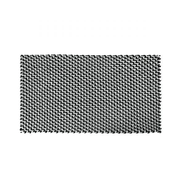 Pool Fußmatte Badematte Outdoorteppich 92 schwarz weiß