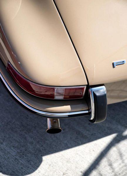 Porsche 911 Detail Leinwandbild