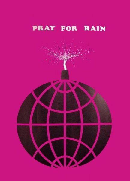 Pray For Rain Leinwandbild