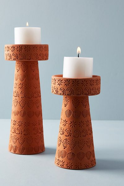 Pressed Kerzenständer - Brown Motif44373421EU