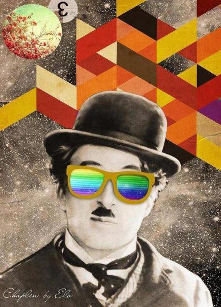 Public Figures: Chaplin Leinwandbild
