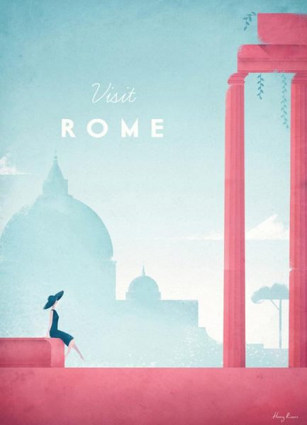 Rome Leinwandbild