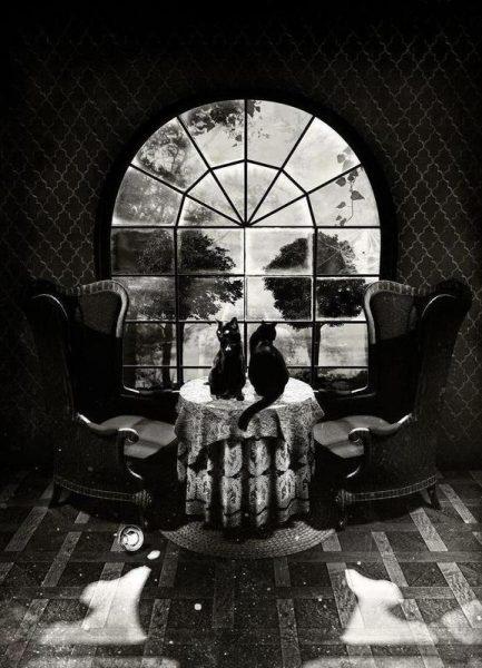 Room Skull Leinwandbild