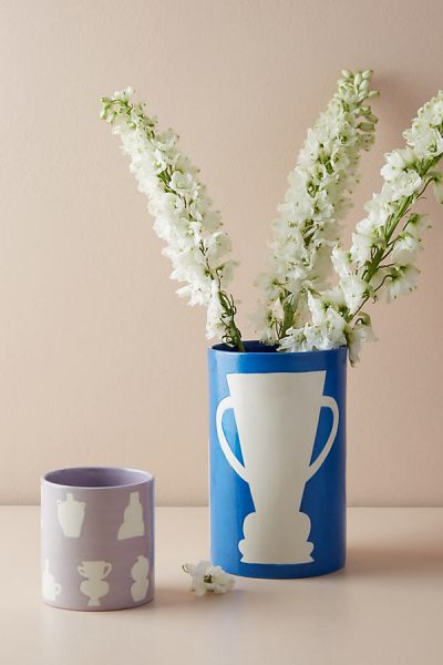 Sandwich Shop Shapes Vase - Purple45326246EU