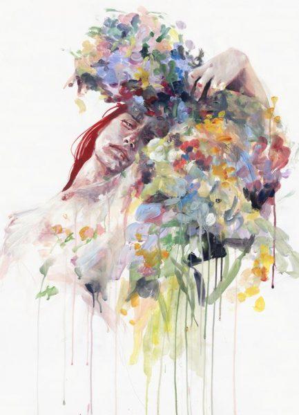 Scentless Flowers Leinwandbild