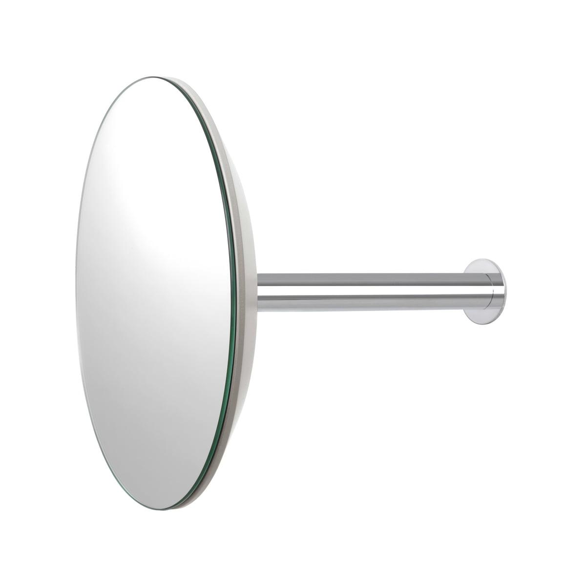 sch nbuch slot wandgarderobe mit spiegel 24 cm grau. Black Bedroom Furniture Sets. Home Design Ideas