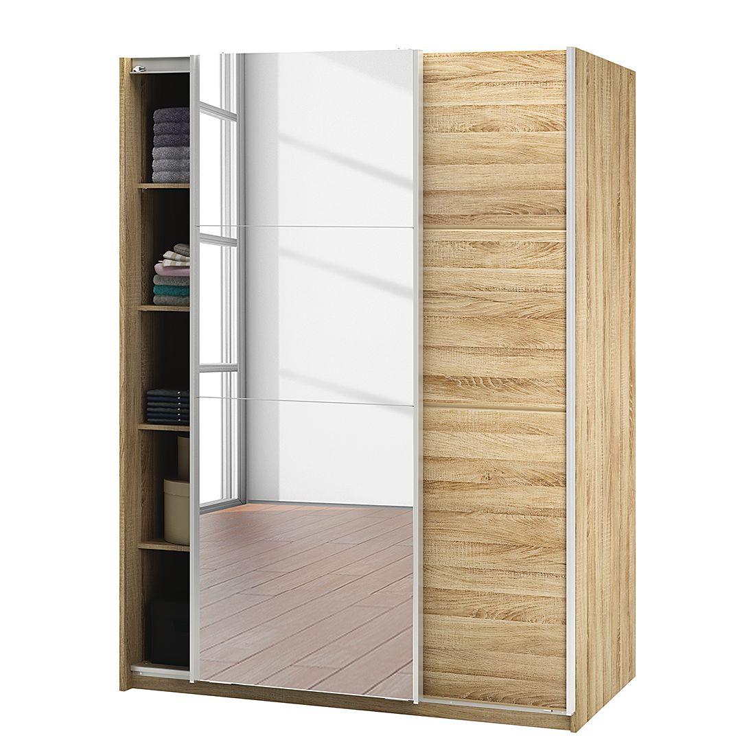 schwebet renschrank bayonne sonoma eiche dekor fredriks online kaufen bei woonio. Black Bedroom Furniture Sets. Home Design Ideas