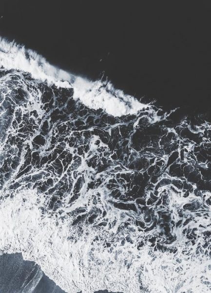 Sea Lace Leinwandbild