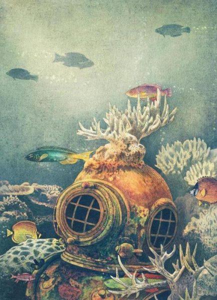 Sea change Leinwandbild