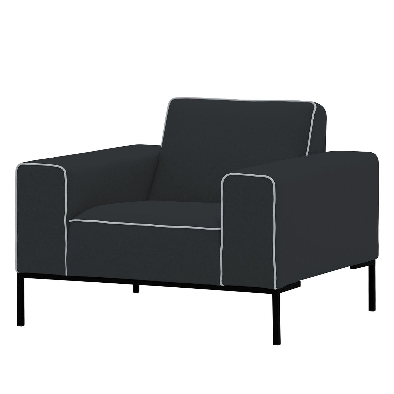 sessel ampio duo webstoff schwarz stoff floreana. Black Bedroom Furniture Sets. Home Design Ideas