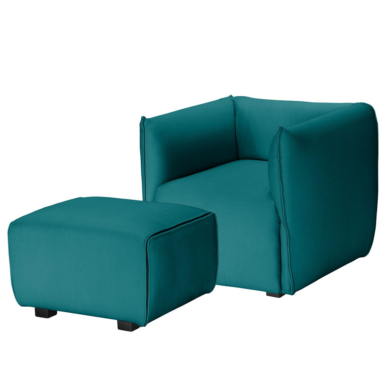 Kasper Wohndesign Hocker: Sessel Grady I Webstoff