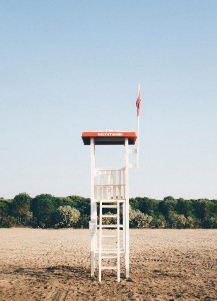 Shorewatch Leinwandbild