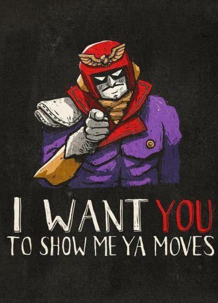 Show Me Ya Moves! Leinwandbild