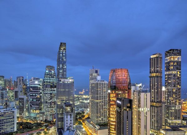 Singapore No. 4 Leinwandbild