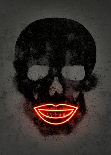 Skull Leinwandbild