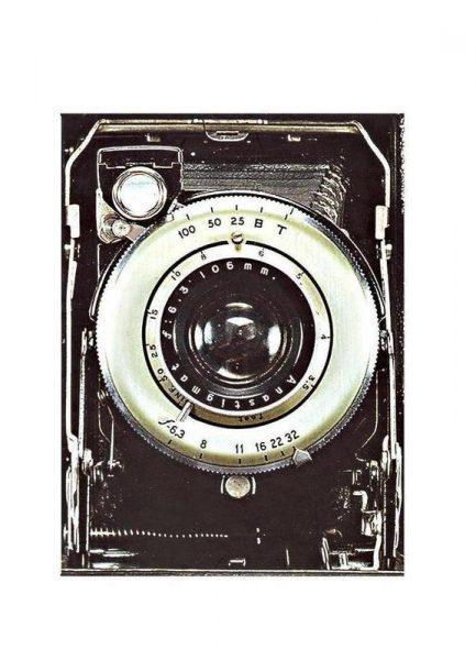 Smile vintage camera Leinwandbild