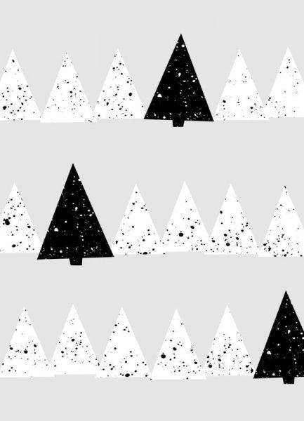 Snowy Forest Leinwandbild
