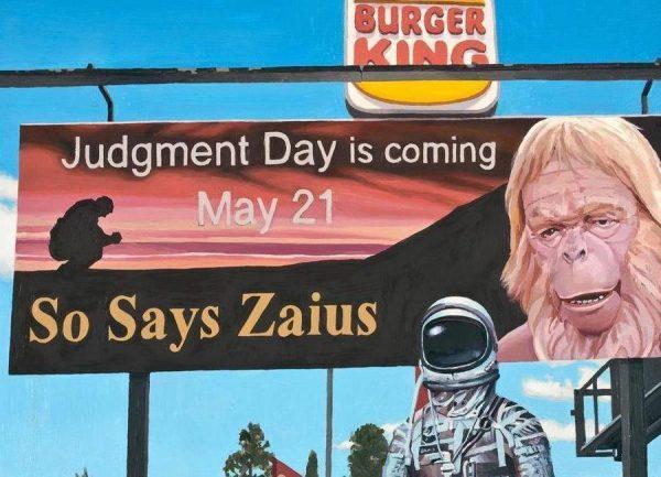 So Says Zaius Leinwandbild