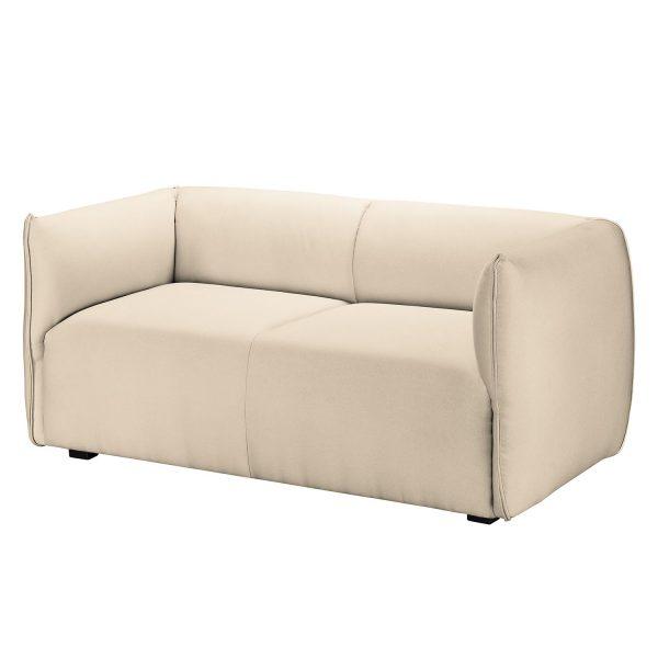 Sofa Grady I (2-Sitzer) Webstoff - Ecru