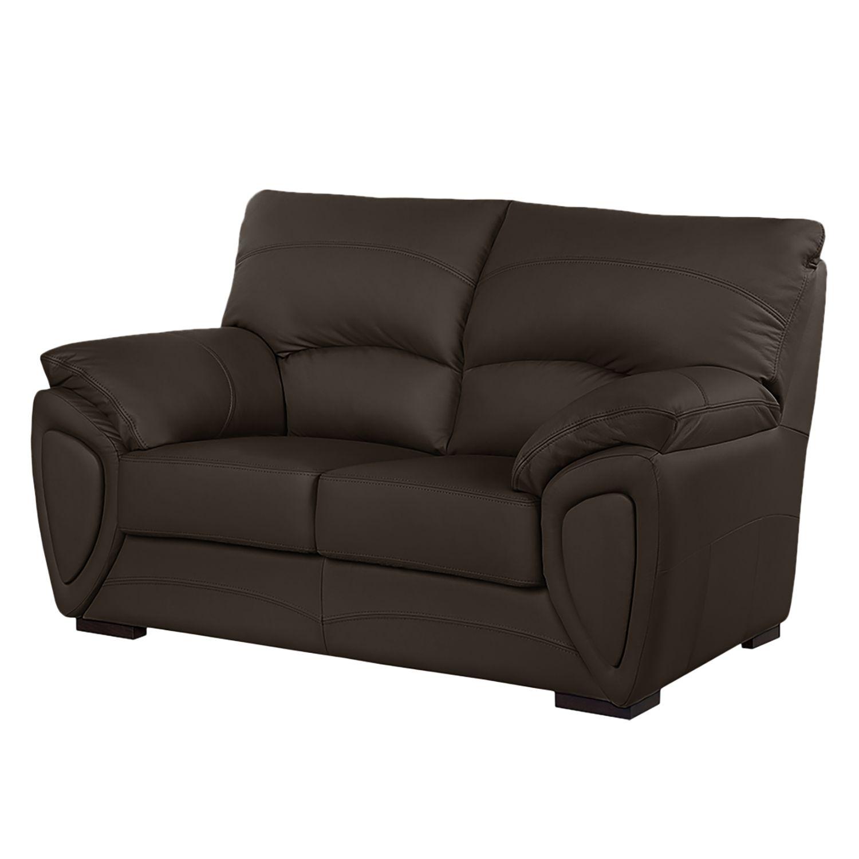 sofa luzzi 2 sitzer kunstleder vintage braun. Black Bedroom Furniture Sets. Home Design Ideas