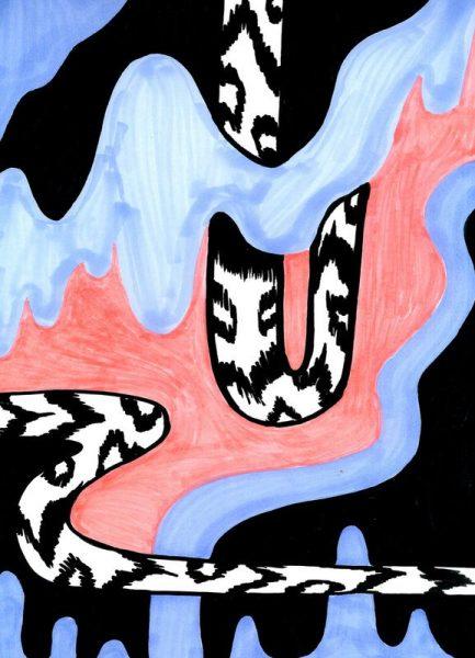 Spirit Snake Leinwandbild