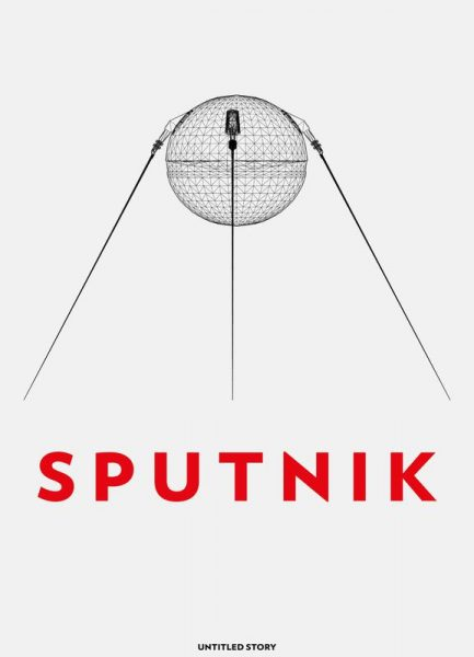 Sputnik 2 Leinwandbild