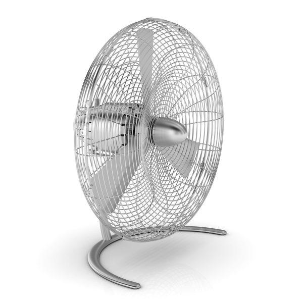 Stadler Form - Charly Boden-Ventilator mit OszillationSilberT:23 H:50 B:46