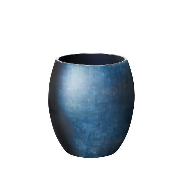 Stelton - Stockholm Vase Ø 131 mm kleinBlauH:17