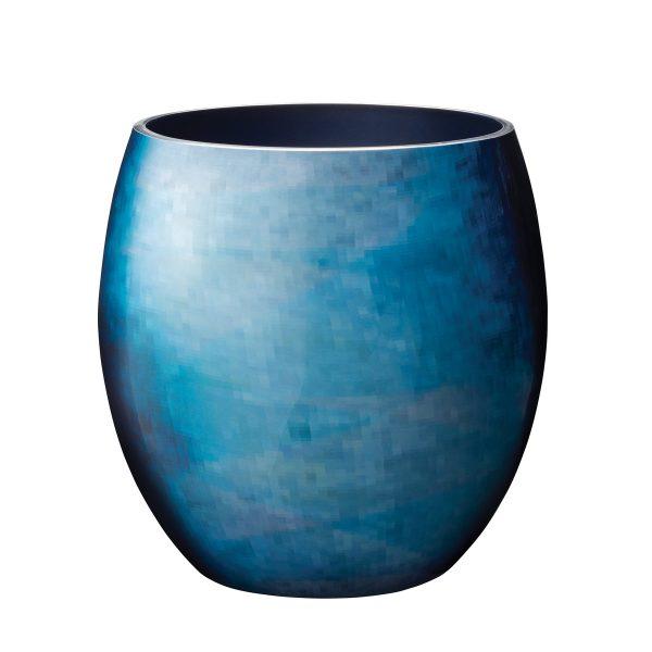 Stelton - Stockholm Vase Ø 203 mm grossBlauH:23