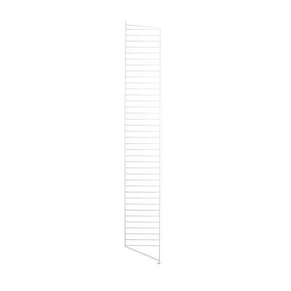 String System Seitenteil mit Standfuß 200 weiß