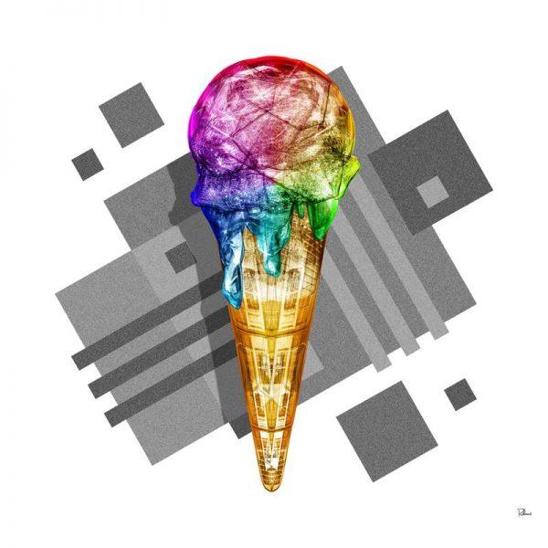 Suck My Rainbow Leinwandbild