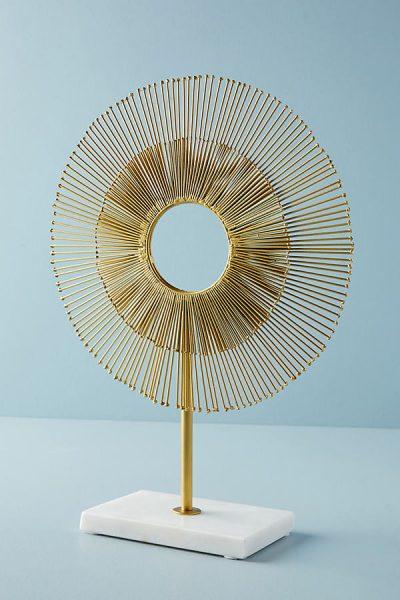 Sunburst Dekorationsobjekt - Gold44344703EU