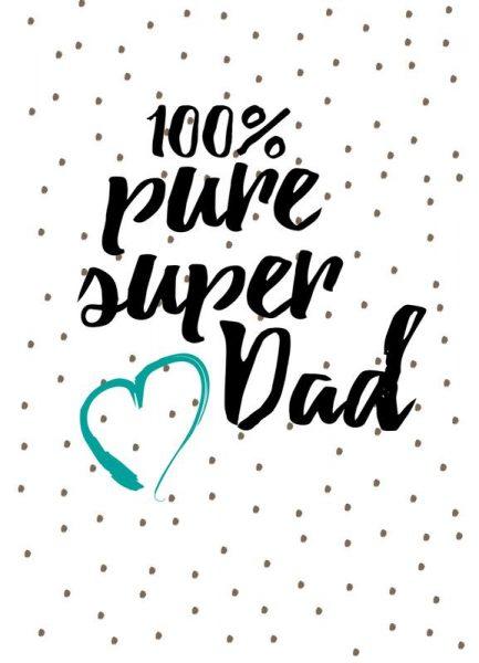 Super Dad Leinwandbild