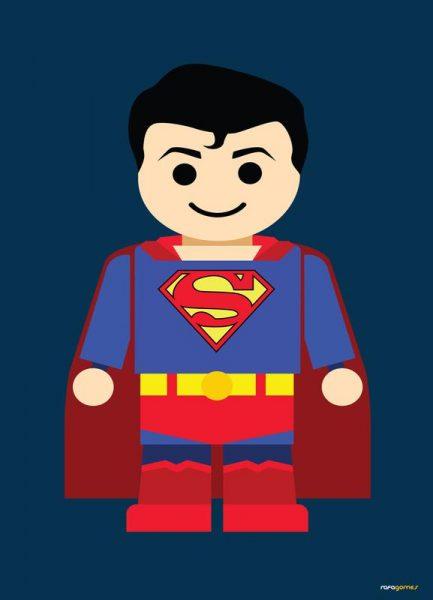 Superman Toy Leinwandbild