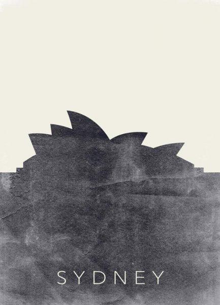 Sydney Leinwandbild