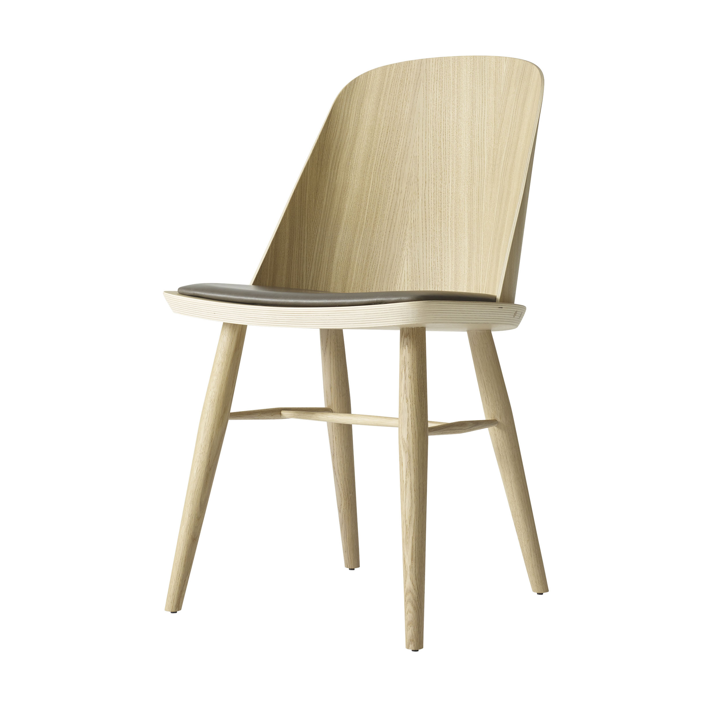 synnes eiche stuhl natur graubraun online kaufen bei woonio. Black Bedroom Furniture Sets. Home Design Ideas