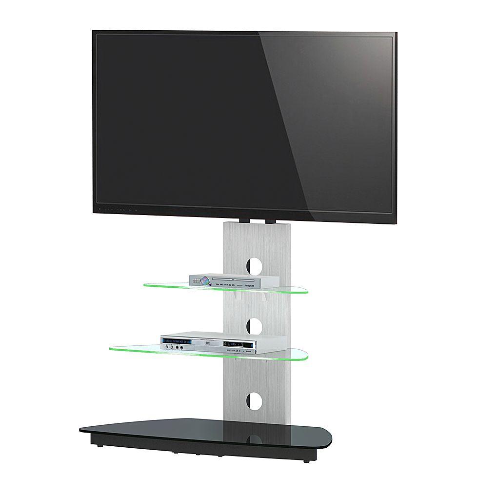 Tv Rack Cu Mr 50 Inkl Beleuchtung Aluminiumglas Jahnke Online