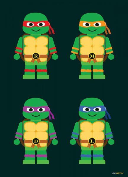 Teenage Mutant Ninja Turtles Leinwandbild
