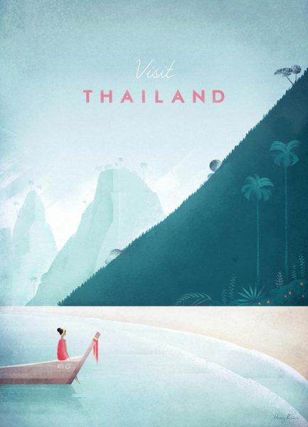Thailand Leinwandbild