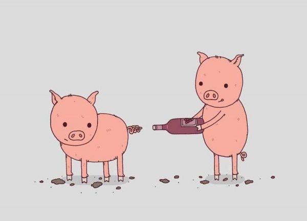 That´ll Do Pig Leinwandbild