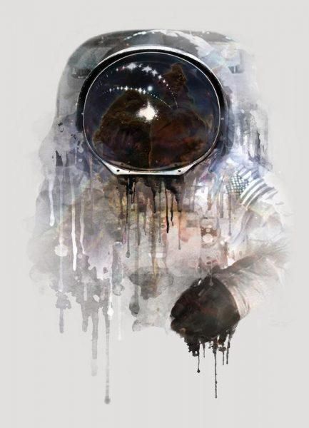 The Astronaut Leinwandbild