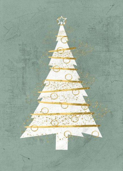 The Christmas Tree Leinwandbild